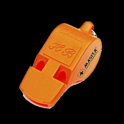 Dommerfløjte - orange - 60 mm.