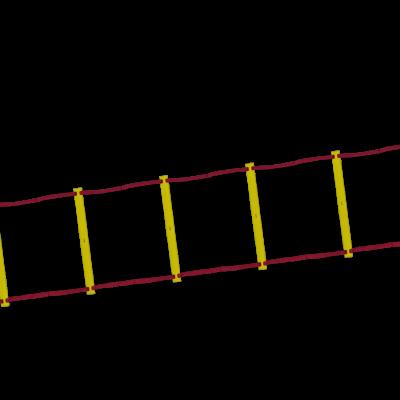 Frekvens/koordinationsstige - 4 m. - TILBUD