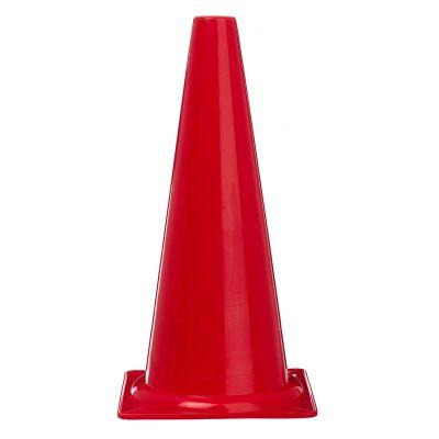 Kegle - rød - 40 cm. høj