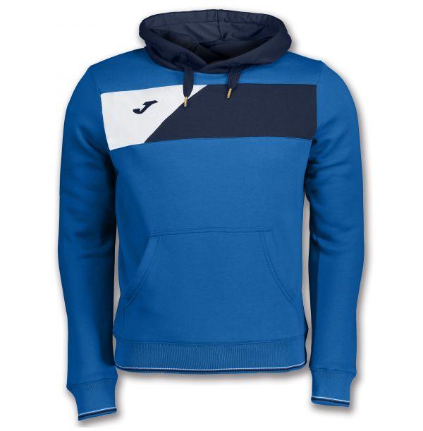 Joma Sweatshirt m. hætte Crew II - Blå/Mørkeblå