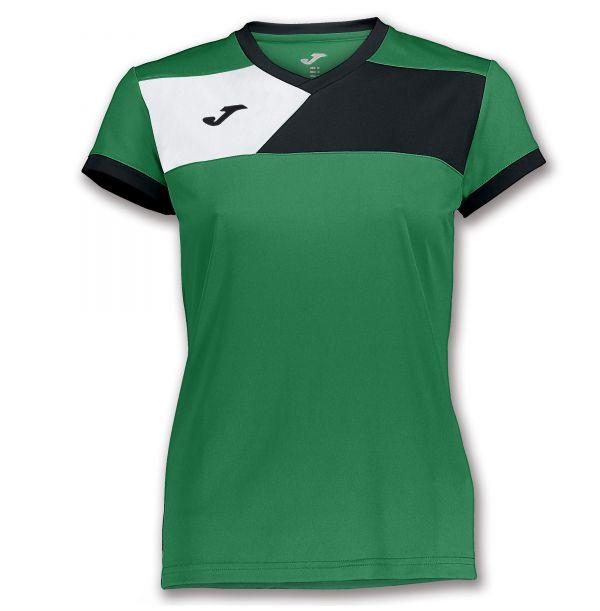 Joma T-shirt Crew II til damer - Grøn/Sort