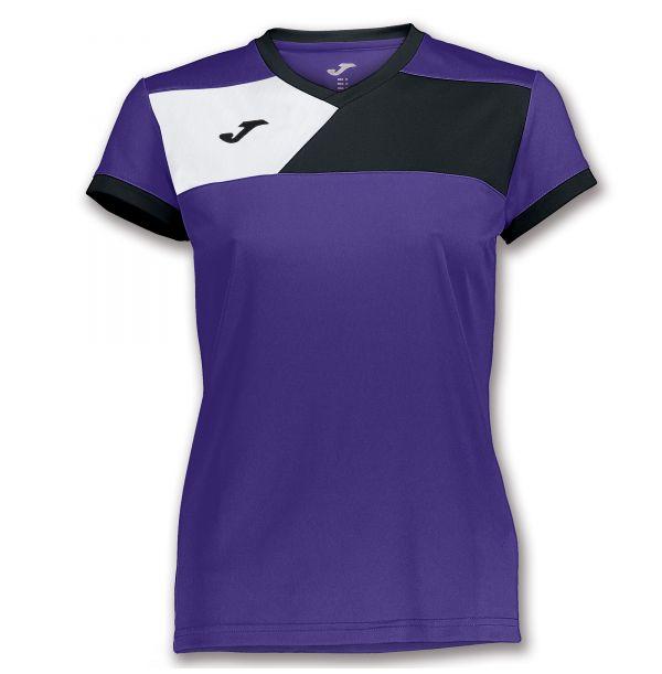 Joma T-shirt Crew II til damer - Lilla/Sort