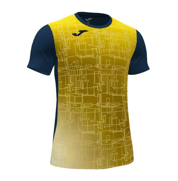 T-shirt - JOMA Record VIII - Gul/blå