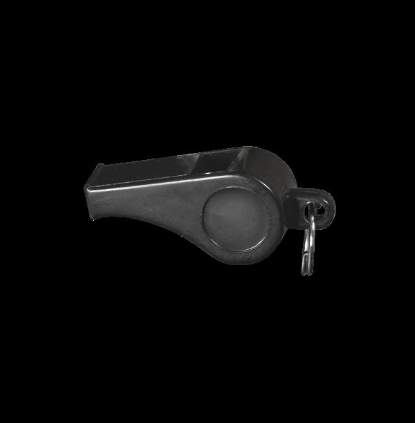 Dommerfløjte - sort - 60 mm.