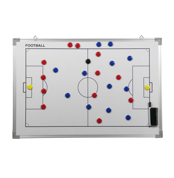 Taktiktavle 60 cm. x 45 cm. - Fodbold