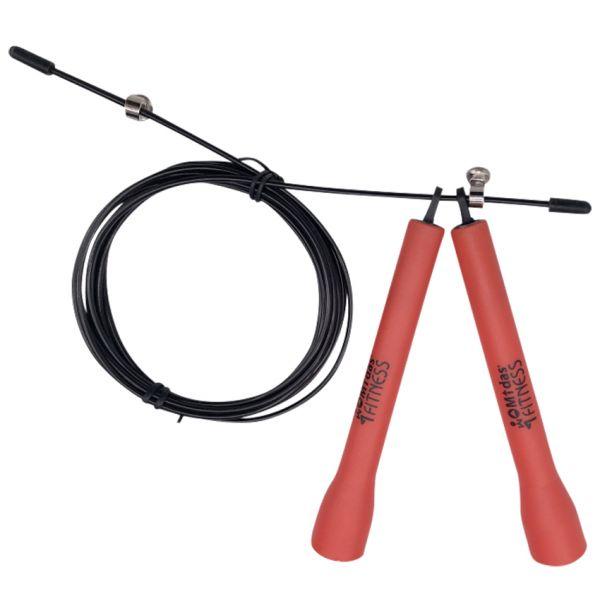 Speed rope med stålwire sjippetov