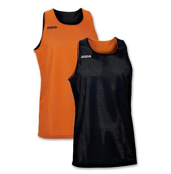 Vendbar Joma Basketballtrøje - Orange/Sort