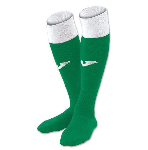 Fodboldstrømper - Joma Calcio 24 - grøn/hvid