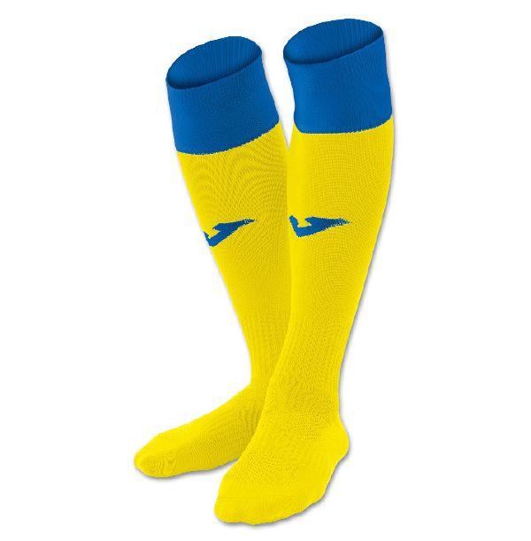 Fodboldstrømper - Joma Calcio 24 - gul/blå