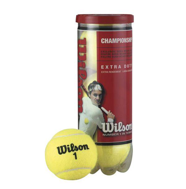 Wilson Championship Tennisbolde - 4 stk.