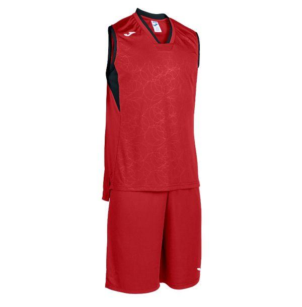 Basket sæt Campus rød-sort