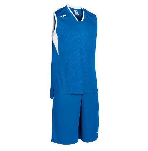 Basket sæt Campus Royalblå-hvid
