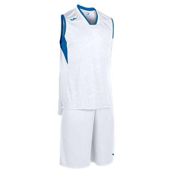 Basket sæt Campus hvid/blå