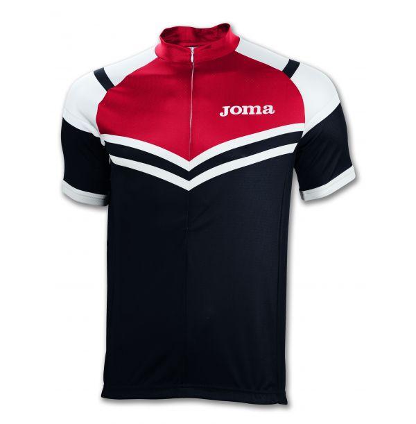 Joma cykeltrøje - rød/sort