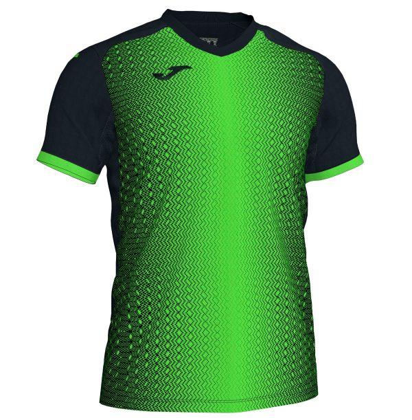 Joma Supernova T-shirt - grøn/sort