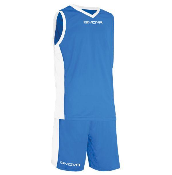 Givova Kit Power Basketsæt - royalblå/hvid