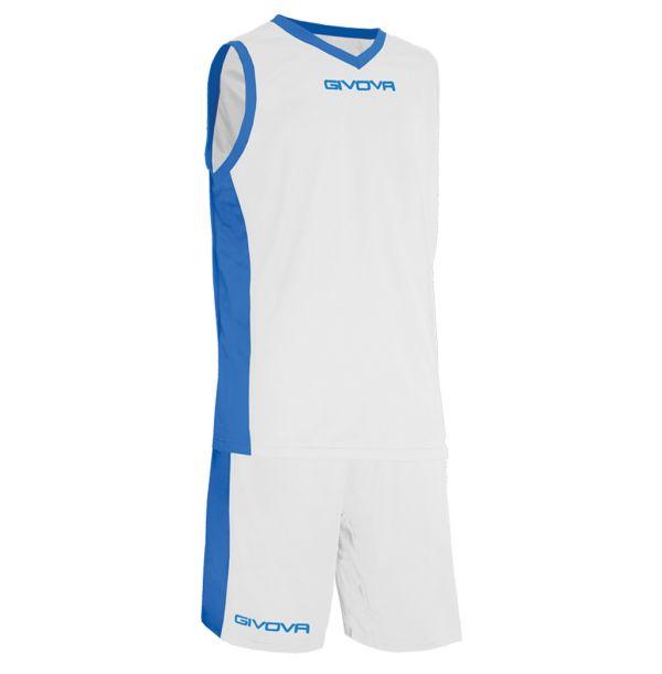 Givova Kit Power Basketsæt - hvid/blå