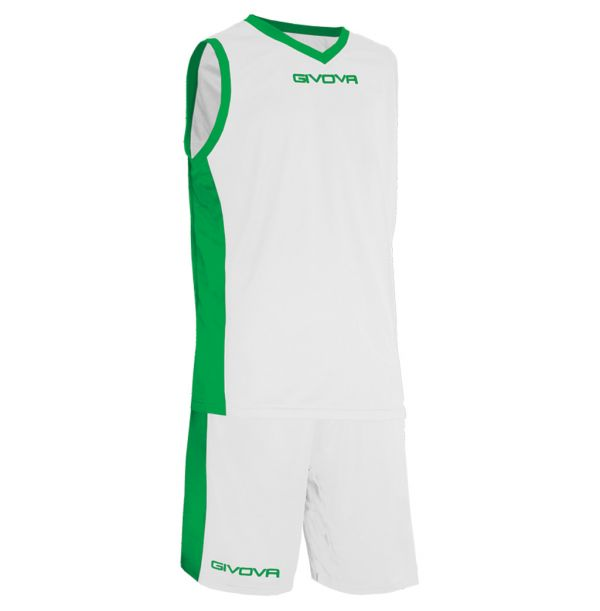 Givova Kit Power Basketsæt - hvid/grøn