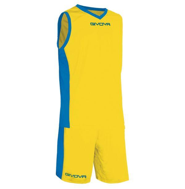 Givova Kit Power Basketsæt - gul/blå