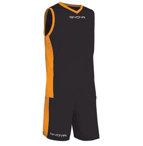 Givova Kit Power Basketsæt - sort/orange