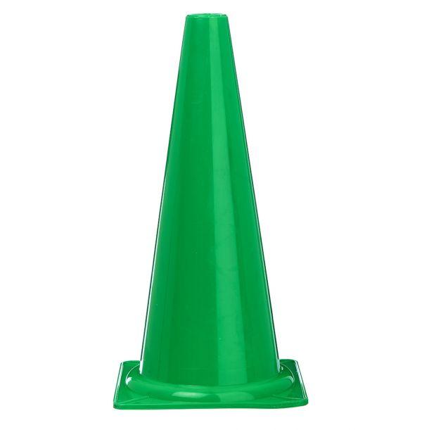 Kegle - grøn - 40 cm. høj