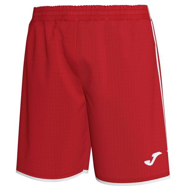 Joma shorts Liga - rød/hvid