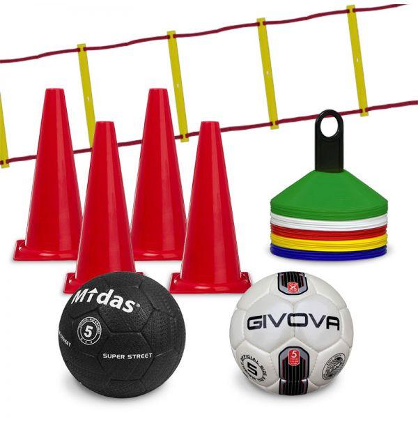 Fodbold træningssæt - stor pakke