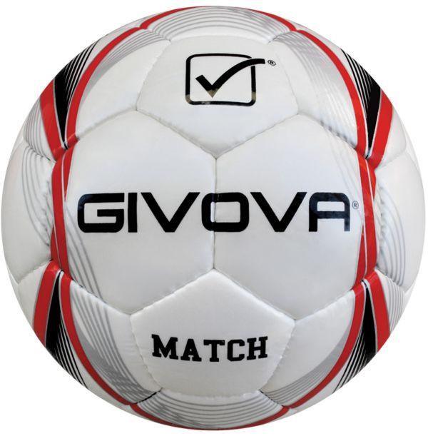 Givova Fodbold MATCH - Hvid/Rød