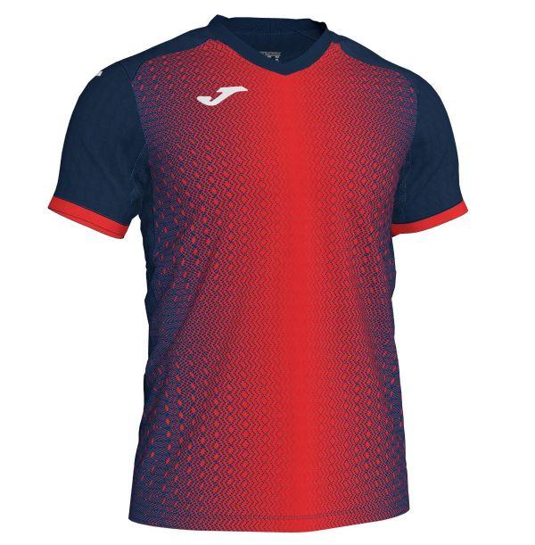 Joma Supernova T-shirt - rød/mørkeblå
