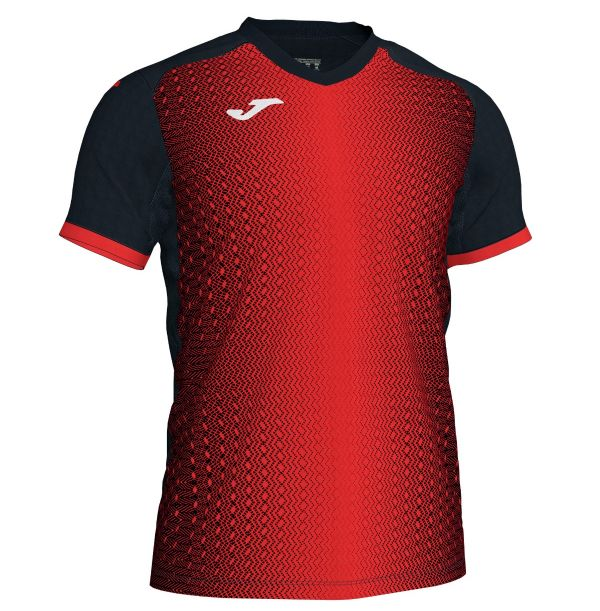 Joma Supernova T-shirt - rød/sort