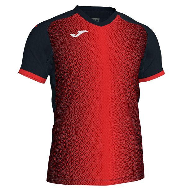 Joma Supernova T-shirt - rød/sort
