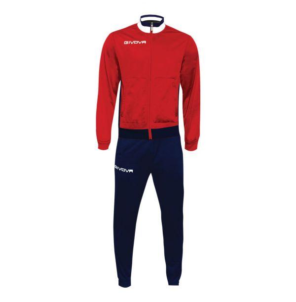 Træningsdragt - Militare - rød/hvid/blå
