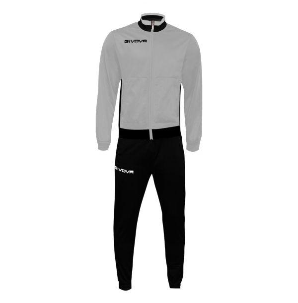 Træningsdragt - Militare - grå/sort