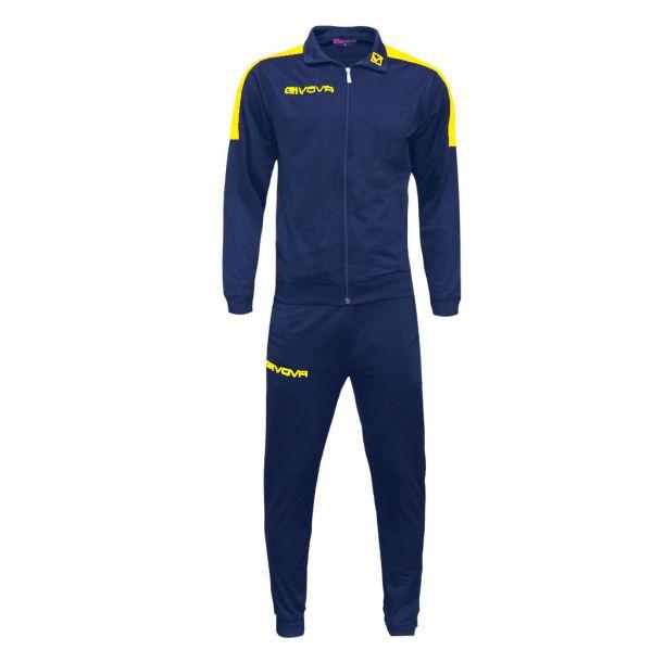 Træningsdragt - Revolution - blå/gul