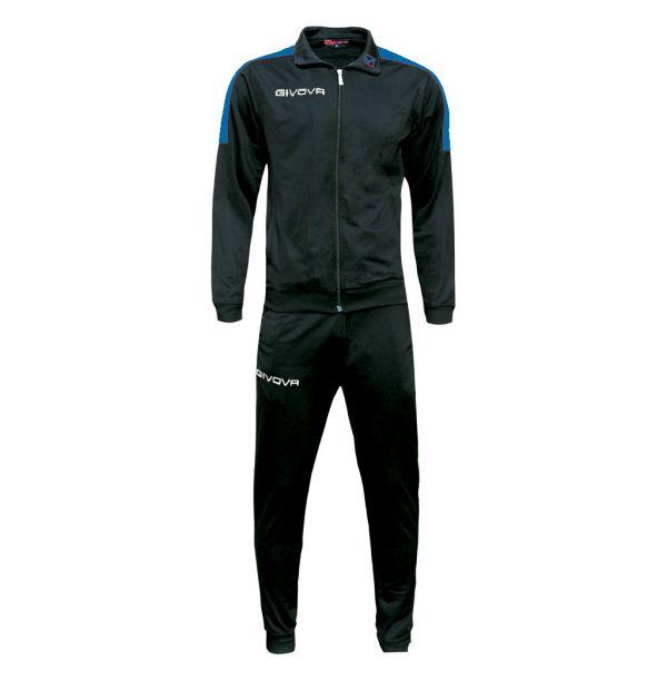 Træningsdragt - Revolution - sort/blå