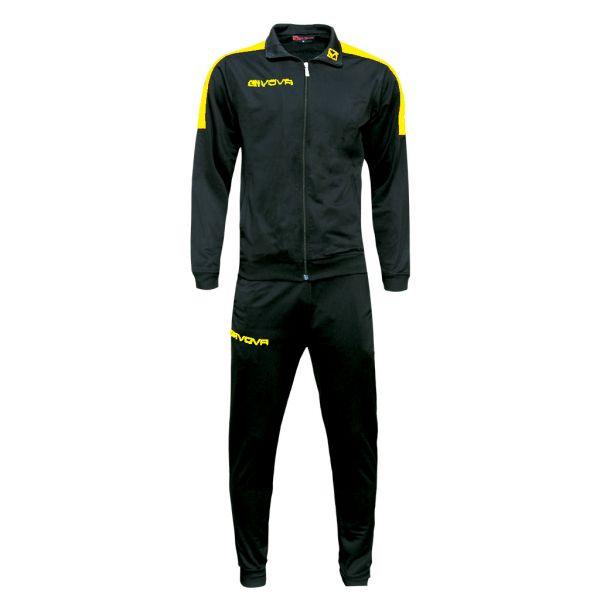 Træningsdragt - Revolution - sort/gul