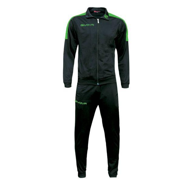 Træningsdragt - Revolution - sort/grøn