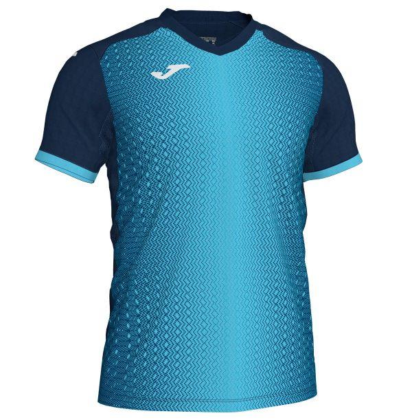 Joma Supernova T-shirt - turkis/mørkeblå